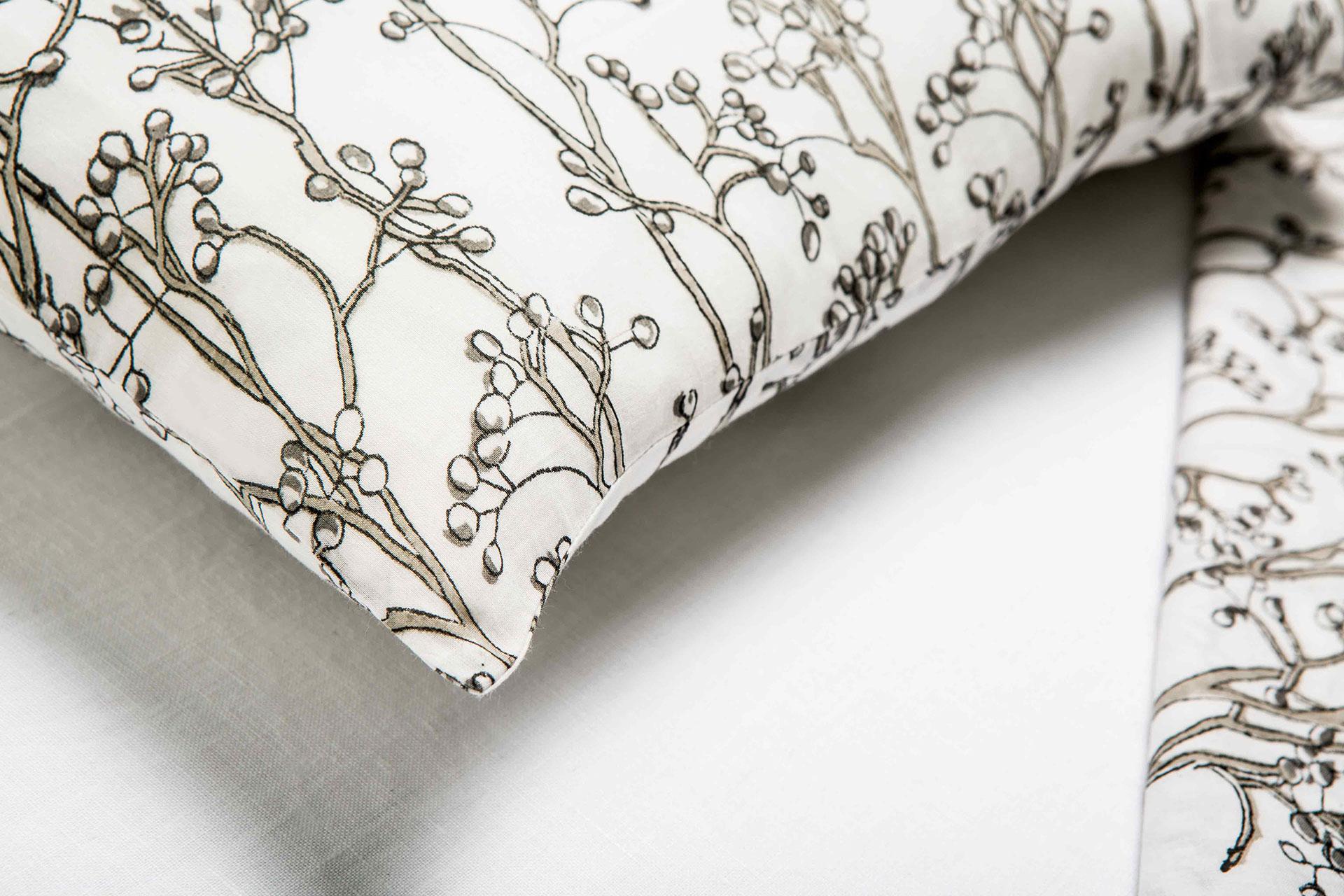 Funda de almohada de algodón ·Sura·